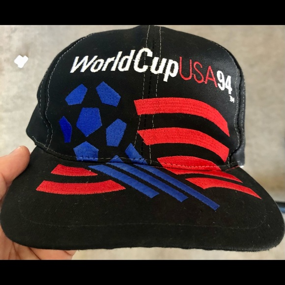 World Cup 1994 USA Adidas SnapBack mint condition